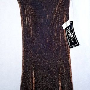 Dresses & Skirts - Molly Malloy Evening Dres Shimmering Copper